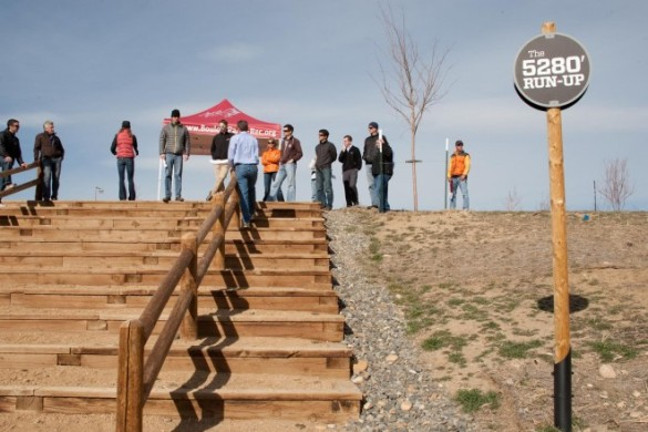the 5280' Run Up at Valmont Bike Park